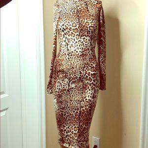 Dresses & Skirts - New leopard over the knee
